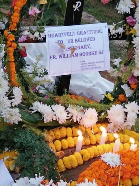 Final resting place of Fr William Bourke SJ