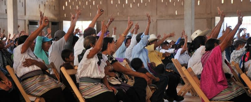 Community Assemby in Chiapas, Mexico